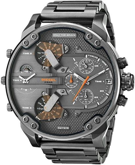 23475c8dfc46 Diesel Men s DZ7315 Mr. Daddy 2.0 Stainless Steel Watch