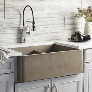 A Comprehensive Overview On Home Decoration Concrete Kitchen Farmhouse Apron Kitchen Sinks Farmhouse Sink Kitchen