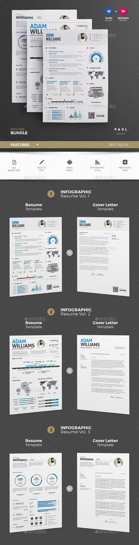 Buy infographic resume