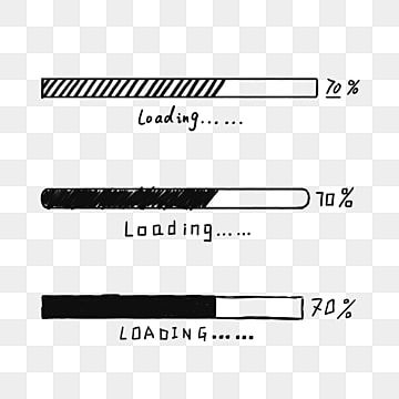 Hand Painted Black And White Progress Bar Hand Painted Black And White Stick Figure Black Png Transparent Clipart Image And Psd File For Free Download Stick Figures Black And White Abstract