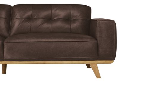 Uno Sofa 3 Sitzig Leder Caralina Sofa Sofas Und Hoffner