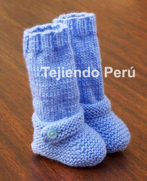 Cómo Tejer Botitas Largas En Dos Agujas O Palitos Para Bebés Botitas Tejidas Para Bebe Zapatos Tejidos Para Bebe Botas De Bebé