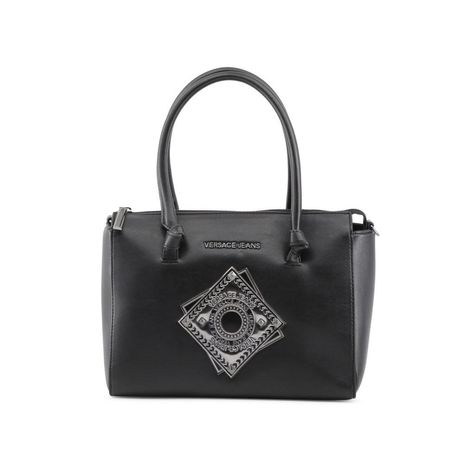 9dfe869ce4 Absolutely Stunning Versace Jeans Women Black Shoulder bags in 2018 ...