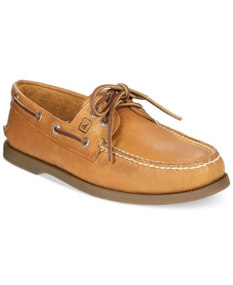 Sperry Top-Sider Shoes, Authentic Original Boat Shoes Color: Sahara or brown buck