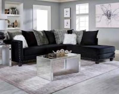 Mongolia Sectional Black Couch Living Room Black Sectional