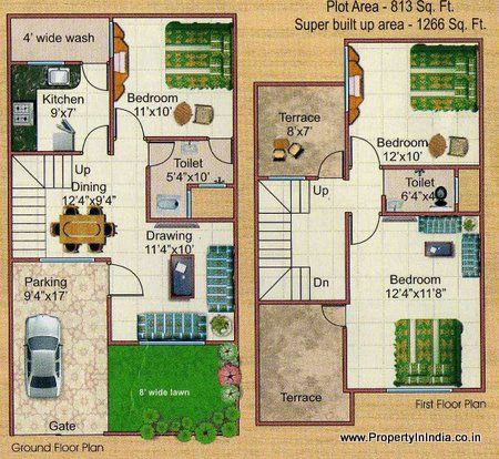 Duplex House Floor Plans Philippines Home Building Designs