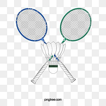Badminton And Racket Illustrations Badminton Clipart Sports Competition Feather Png Transparent Clipart Image And Psd File For Free Download Rackets Badminton Badminton Racket