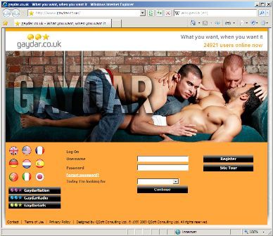 Gay online chat