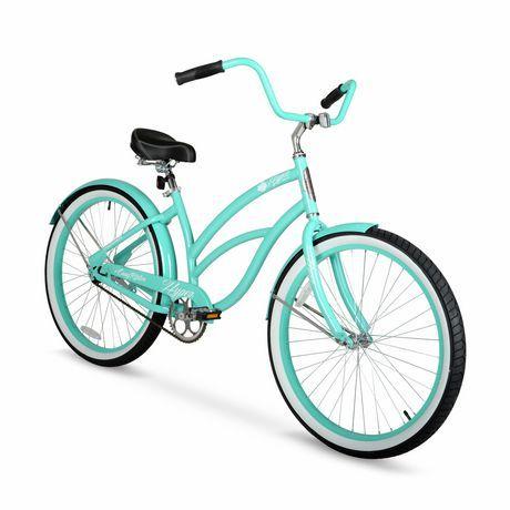 26 Hyper Bicycles Easy Rider Women S Cruiser Aluminum Seafoam