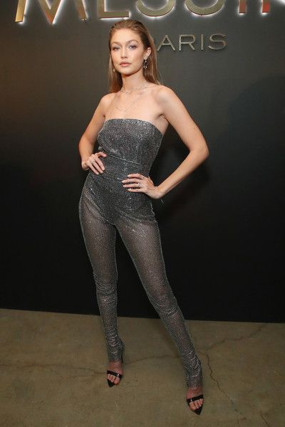 Gigi Hadid attends the MESSIKA Party, NYC Fashion Week Spring/Summer 2019 Launch Of The Messika By Gigi Hadid Collection.