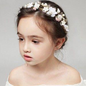 子どもカチューシャ フラワーティアラ 子供用 フォーマル 髪飾り ヘアアクセサリー キッズ 結婚式 ウェディング 発表会 入園式 卒園式 髪飾り ヘアアクセサリー カチューシャ