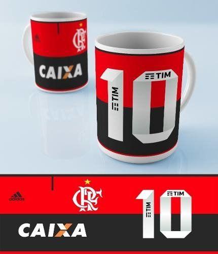Caneca De Porcelana Flamengo Meu Time Do Coracao Canecas Fotos