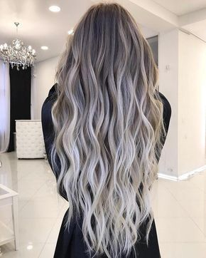 Ash Gray 2019 Neutral Color Of The Year Pin Now Read Later Elm Drive Designs Hair Styles Long Hair Styles Hair Color Balayage