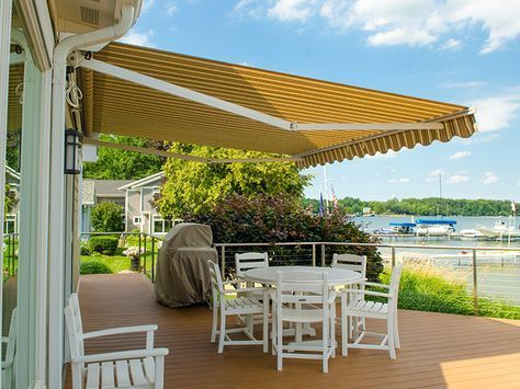 Replace The Fabric On Your Retractable Awning Pergola