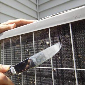 Clean Your Ac Condenser Unit Clean Air Conditioner Diy Air Conditioner Air Conditioner Condenser