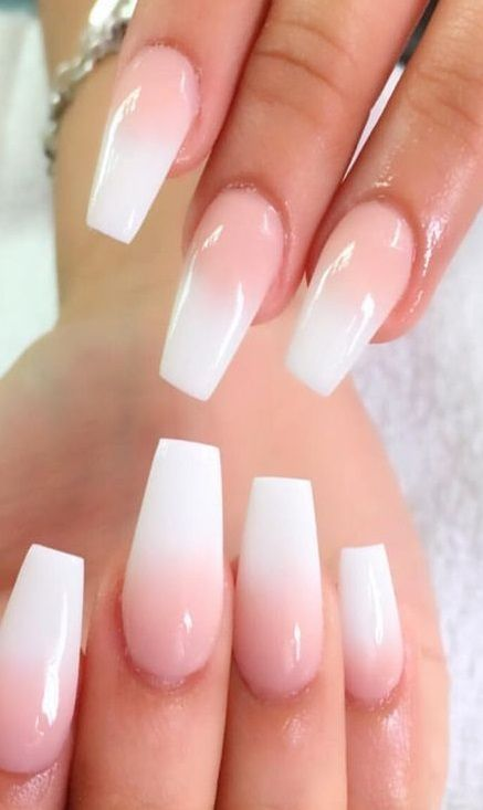 Brown French Tip Coffin Nails Brown Coffin French Nails Tip In 2020 Nails Pretty Acrylic Nails French Acrylic Nails