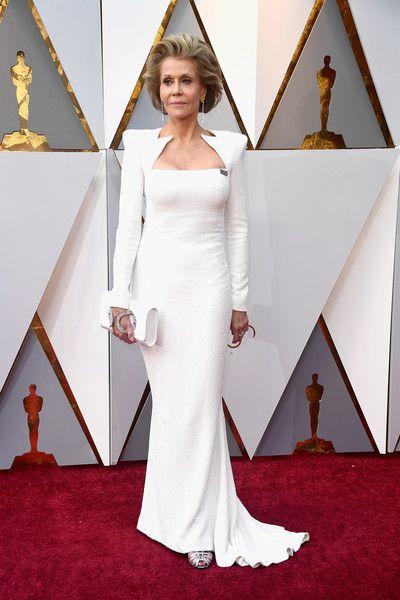 Jane Fonda - The Most Daring Dresses at the 2018 Oscars - Photos