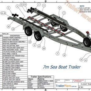 Boat Trailer Plans Trailer Plans Designs And Drawings Boat Trailer Tow Boat Trailer Plans