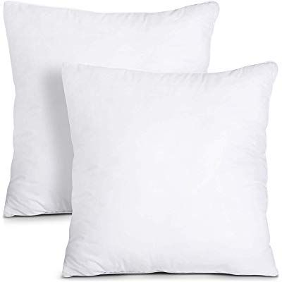 Pillow Insert 26 X 26 Polyester Filled Standard Cover 2 Pack Amazon Ca Home Kitchen In 2020 Couch Pillows Utopia Bedding Decorative Pillows Couch