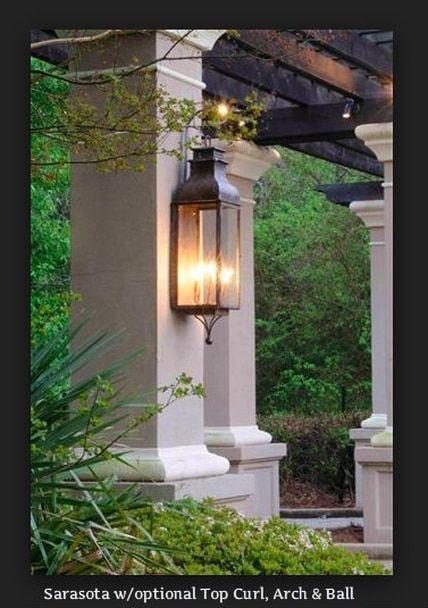 St James Sarasota Copper Lantern In 2020 Copper Lighting Outdoor Light Fixtures Outdoor Lighting