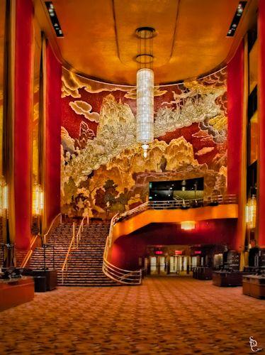 Art déco radio city music hall new york 1932 façade plaque bronze les rockettes art déco architecture pinterest architecture