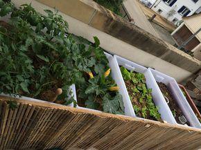 Ikea Hackers Samla Raised The Bed Garden Hochbeet Ikea Garden Diy Garden Furniture Garden Boxes Diy