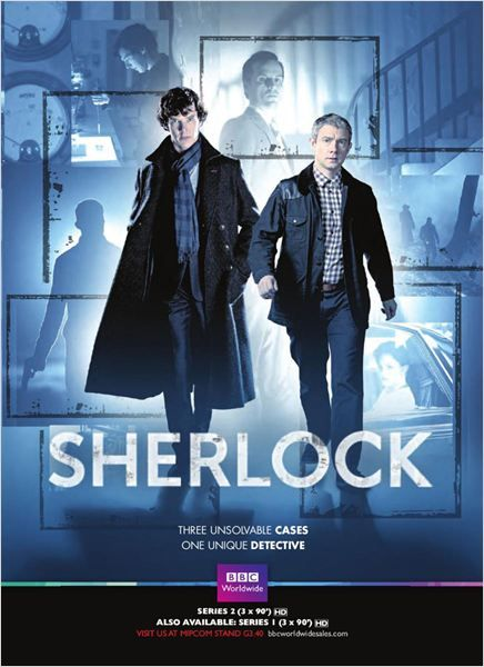 Sherlock : Photo Benedict Cumberbatch, Martin Freeman