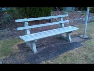 Old Style Park Bench Outdoor Setting Pinterest Outdoor
