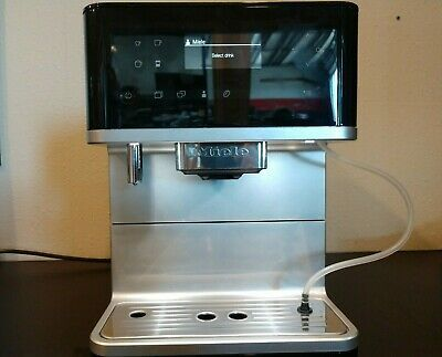 Miele Cm6350 Countertop Coffee Machine Obsidian Black Coffee