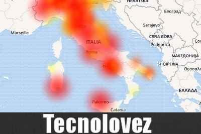 Risultato immagini per TIM down in tutta Italia -
