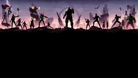 HD wallpaper: avengers infinity war, 2018 movies, hd, 4k, 5k, 8k, minimalism