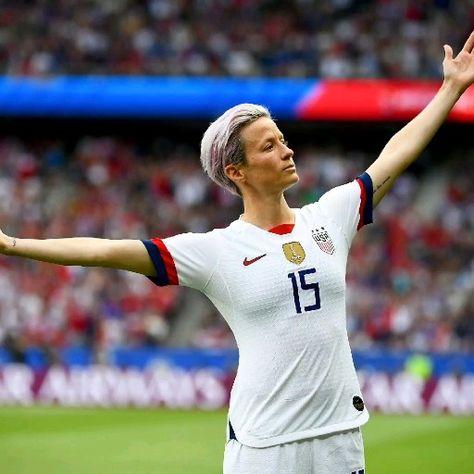Megan Rapinoe  - USA women's National soccer team. Activist.