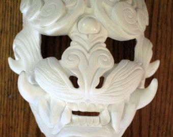 Blank Masks To Decorate Diy Lion Of The Wind Blank Mask For Costuming Or Decoration  Mask
