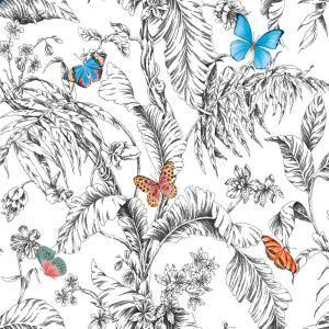 Roommates Butterfly Sketch Vinyl Peelable Wallpaper Covers 28 29 Sq Ft Rmk11359rl The Home Depot Butterfly Sketch Peel And Stick Wallpaper Wallpaper