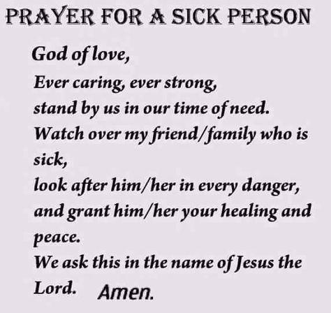List of Pinterest prayer for the sick healing family