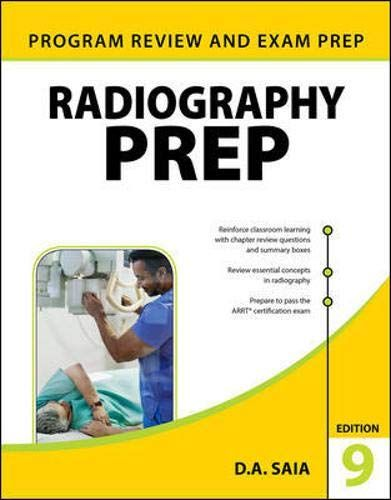 Read Book Radiography Prep Program Review And Exam Preparation