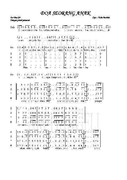 Download song Lagu Natal Doa Anakmu (8.9 MB) - Sony Mp3