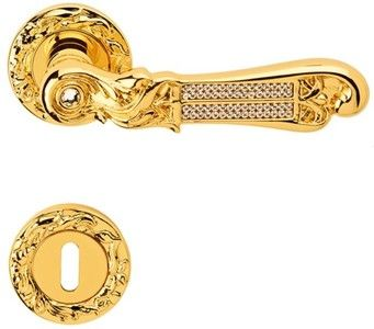 Casa Padrino Luxus Barock Turklinken Set Gold 14 5 X H 5 3 Cm Turgriff Set Mit Swarovski Kristallglas In 2020 Kristallglas Griffe Swarovski