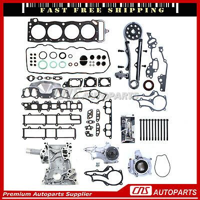 NEW TIMING CHAIN COVER FOR 85-95 2.4L TOYOTA 4RUNNER PICKUP