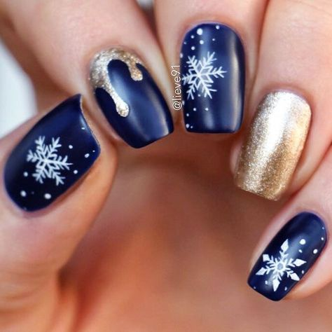 nails Cute Winter Nails Designs to...
