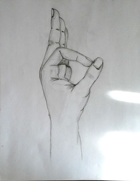 My hand drawing