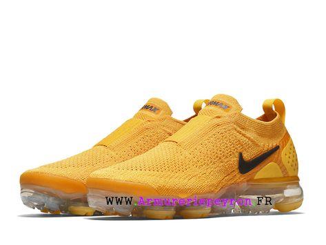 new style f4afa f26ce Acronyme x Nike Air VaporMax Moc 2 Chaussures de Basketball Prix Pour Homme  Jaune blanc AJ6599 600