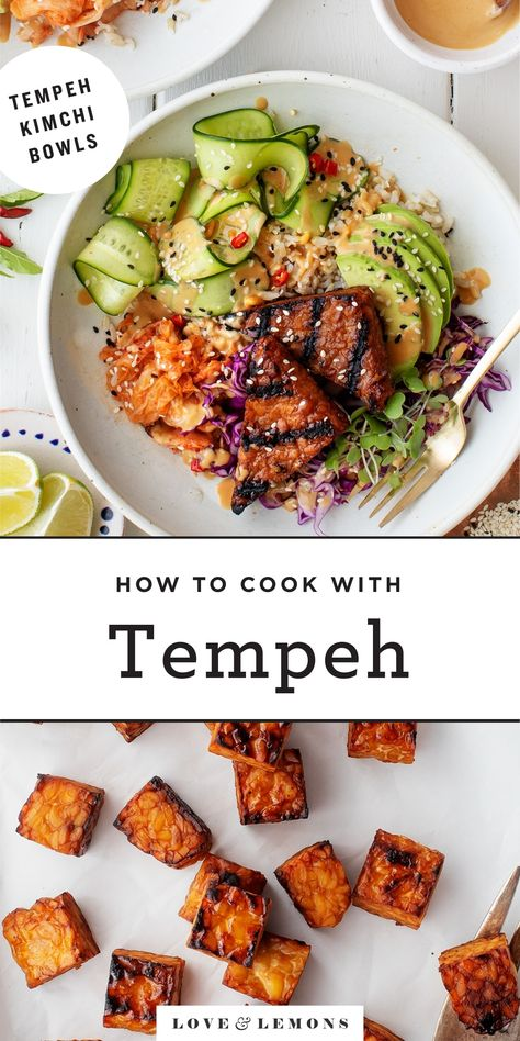 What is tempeh?) - Love and Lemons - Learn Every Ma . - What is tempeh?) – Love and Lemons – Learn how to cook Tempeh perfectly - Healthy Recipes, Vegetarian Recipes, Cooking Recipes, Tempeh Recipes Vegan, Beef Recipes, Healthy Vegetarian Recipes, Breakfast, Vegan Recipes, Pancake