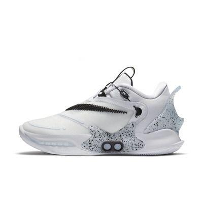 Nike Adapt Bb 2 0 Uk Cv2444 101 Men S Us7 11 Basketball Shoe White In 2020 Basketball Shoes Nike Cleats Shoes