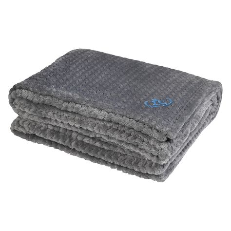 ef9cb3da96 This super soft and cozy blanket features an embroidered logo on the  corner.  embroidered  blankets  custom  products  promotional  corporate   holiday   ...