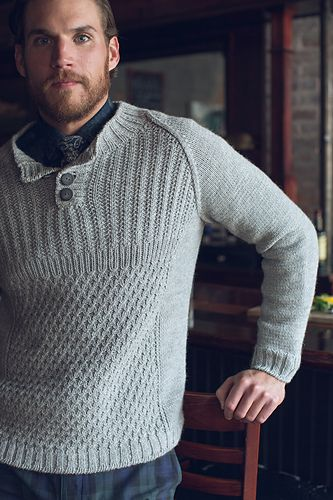 Ravelry: Limerick Henley pattern by Mary Anne Benedetto