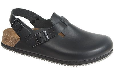 Birkenstock Tokyo Super Grip Black Leather Perfect style for ...