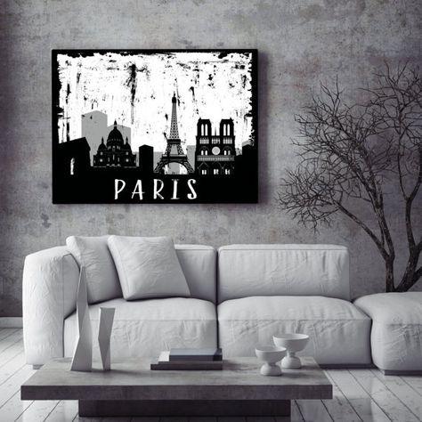 Paris Paris Print Paris Poster Paris Wall Art Paris Skyline