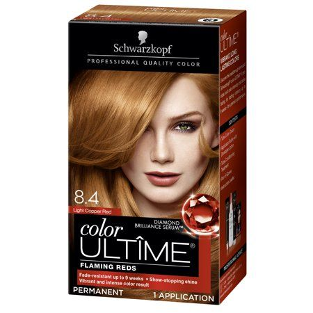 Schwarzkopf Color Ultime Permanent Hair Color Cream 5 29 Vintage Red Walmart Com Schwarzkopf Hair Color Hair Color Cream Schwarzkopf Color