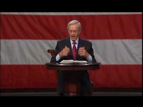 """Dr. Charles Stanley - """"Turning the Tide"""" (What Happens When a Nation Violates the Laws of God?) Sunday, July 4, 2010."""